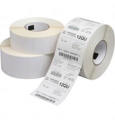 Etiqueta Blanco Mate Impresora Transferencia Térmica 89x36 y 125mm diámetro