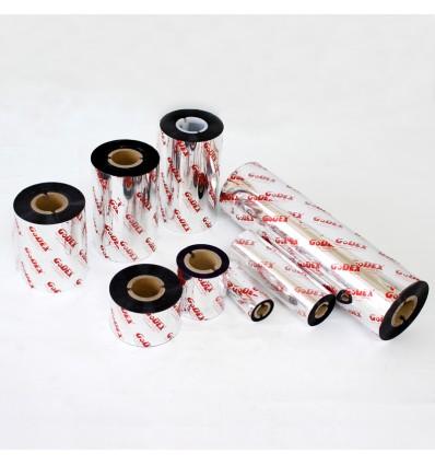 Ribbon Original Godex de cera Premium. 110mm x 450m (GWX 265). Mandril 1 pulgada