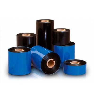 Ribbon compatible de cera Premium. 75mm x 110m. Mandril 1/2 pulgada